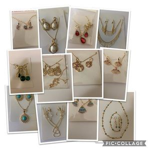12 pieces of Gold filled Jewelry